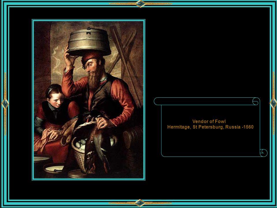 Vendor of Fowl Hermitage, St Petersburg, Russia -1560