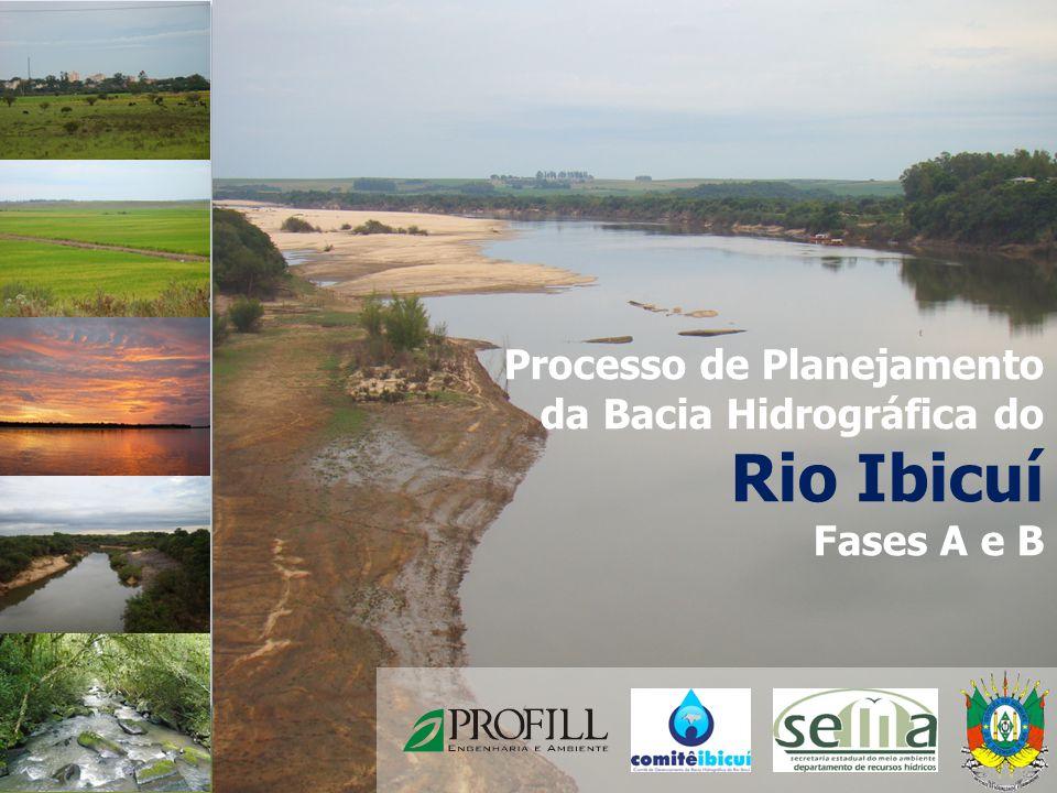 Processo de Planejamento da Bacia Hidrográfica do Rio Ibicuí Fases A e B 1