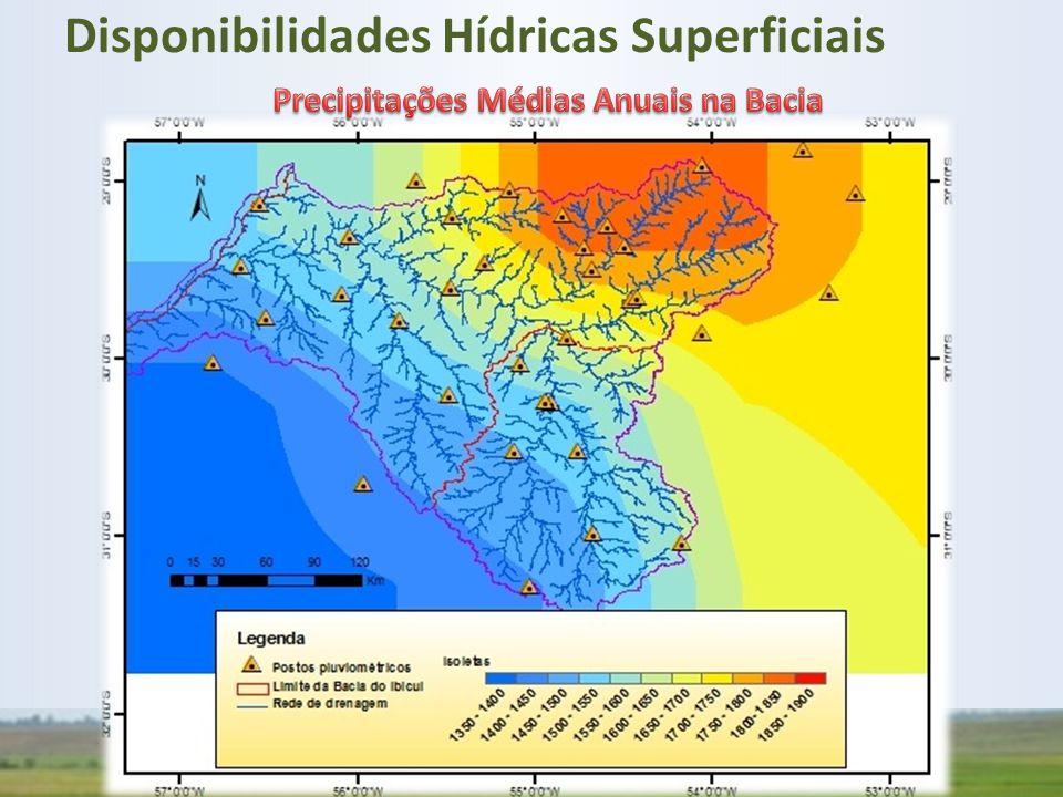 Disponibilidades Hídricas Superficiais