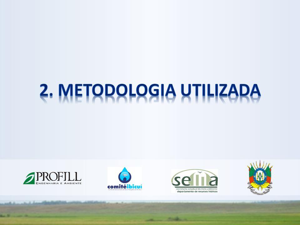 Disponibilidade Hídrica Superficial Vazão média: 1.118 m 3 /s; Vazão mínima (Q90%): 146 m 3 /s Volume médio: 35.263.555.200 m 3 /ano; Volume mínimo (Q90%): 5.785.488.730 m 3 /ano Açudagem Quant.: 2.228 (> 1 ha); Área Alagada: 51.387 ha; Volume Acumulado: 1.294.448.382 m 3 Demandas de Água Vazão máxima de verão: 344 m 3 /s (nem toda de vazão fluente); Volume anual correspondente à demanda: 2.708.667.100 m 3 Vazão média inverno: 2,9 m 3 /s Consumos de Água Volume Total Anual: 1.531.363.600 m 3 Caracterização Geral da Bacia
