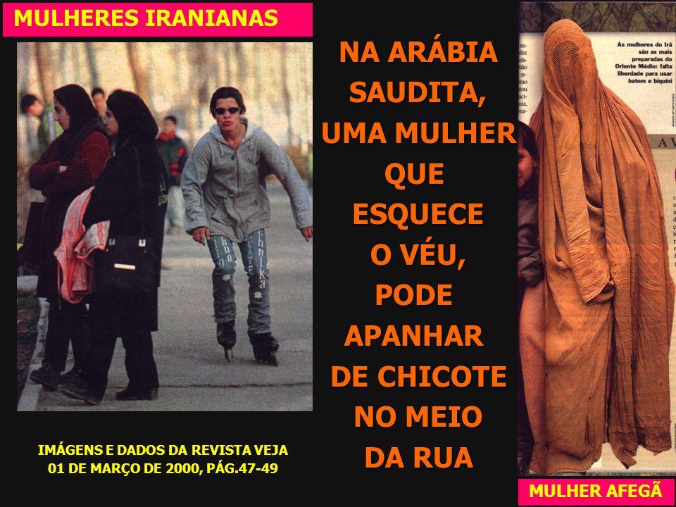 NO IRÃ (ESQUERDA), AS MULHERES SÃO OBRIGADAS A USAR O XADOR MULHERES IRANIANAS MULHER AFEGÃ NO AFEGANISTÃO, (DIREITA) O REGIME TALIBAN AS OBRIGOU A US