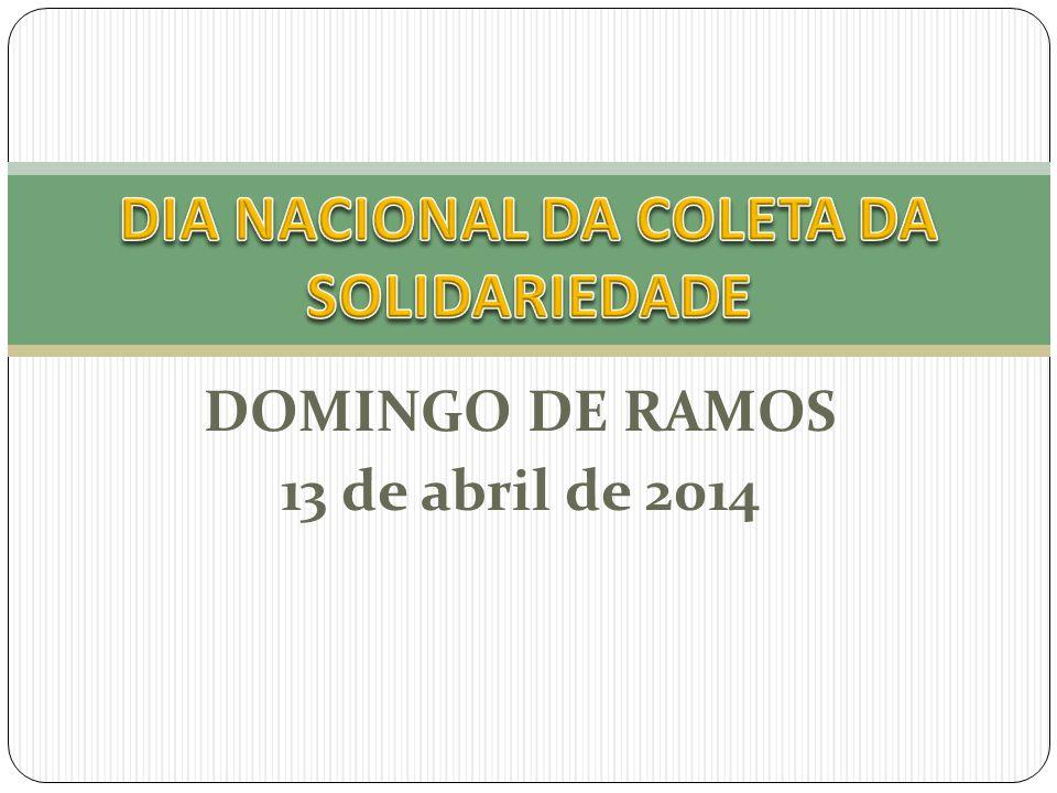 DOMINGO DE RAMOS 13 de abril de 2014