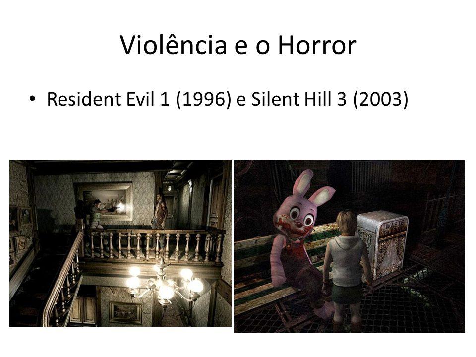Violência e o Horror • Resident Evil 1 (1996) e Silent Hill 3 (2003)
