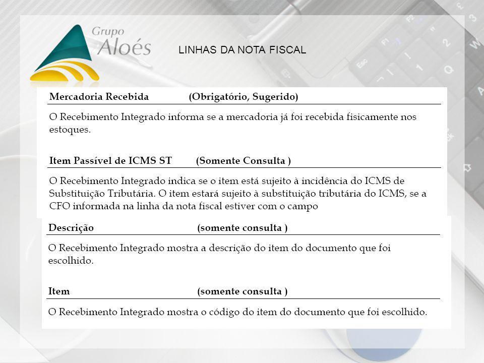 Daniel Jorge Figueiredo Nunes LINHAS DA NOTA FISCAL