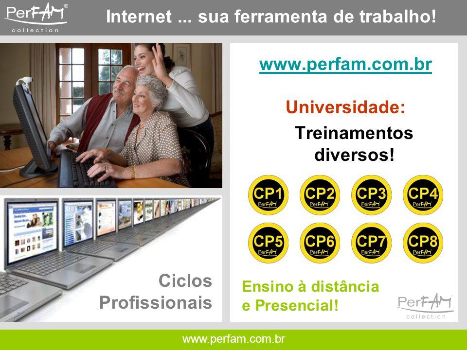 www.perfam.com.br Internet...sua ferramenta de trabalho.