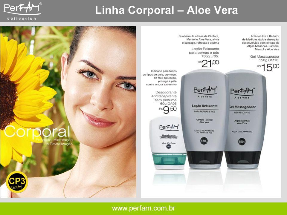 www.perfam.com.br Linha Corporal – Aloe Vera