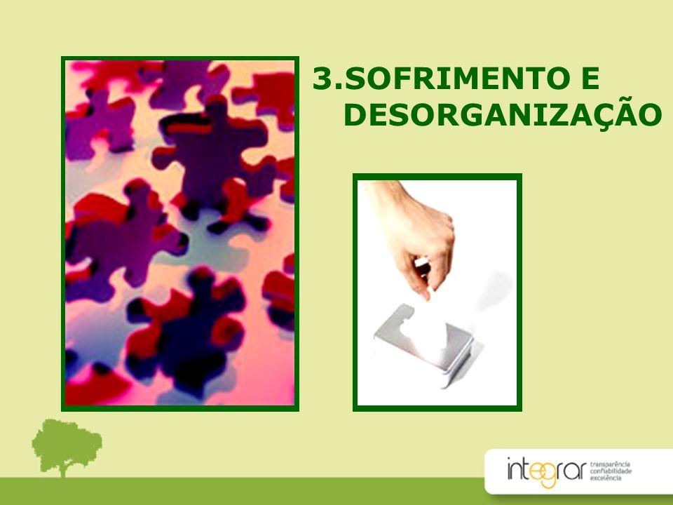 3.SOFRIMENTO E DESORGANIZAÇÃO