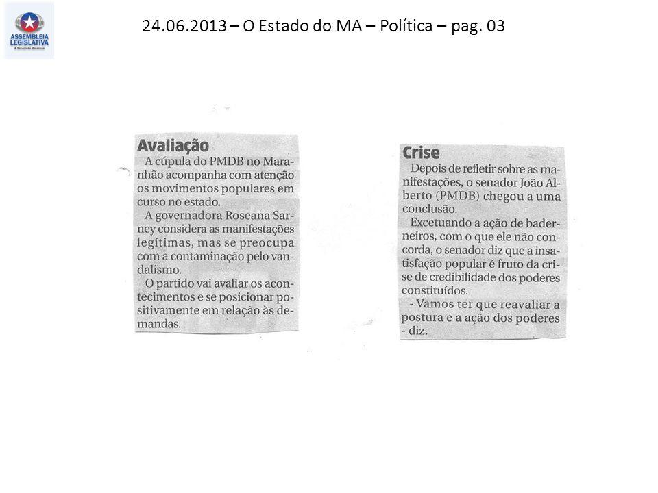 24.06.2013 – O Impacial – Política – pag. 03