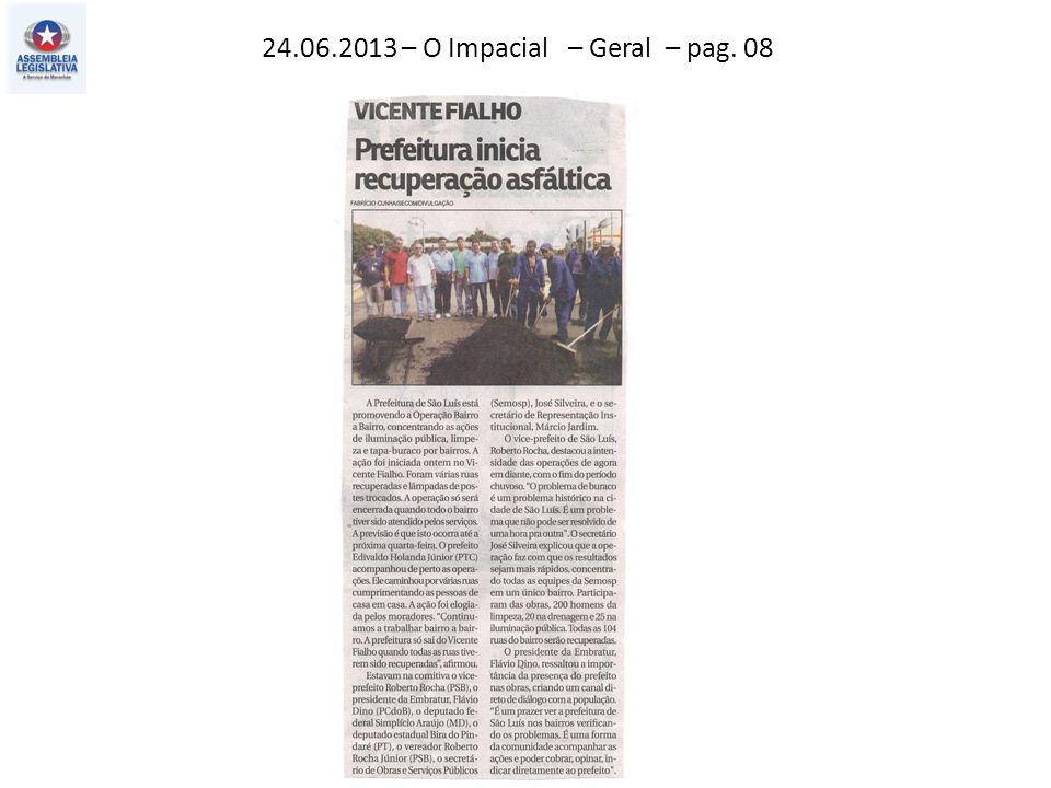 24.06.2013 – O Impacial – Geral – pag. 08