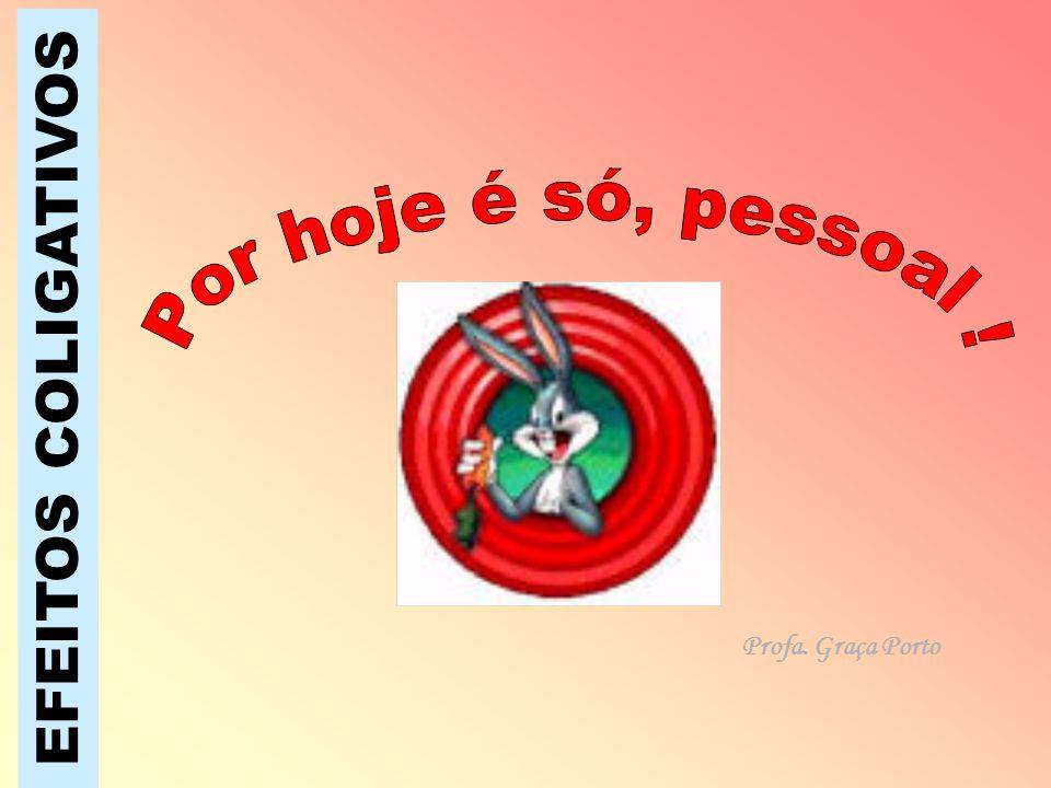 EFEITOS COLIGATIVOS Profa. Graça Porto
