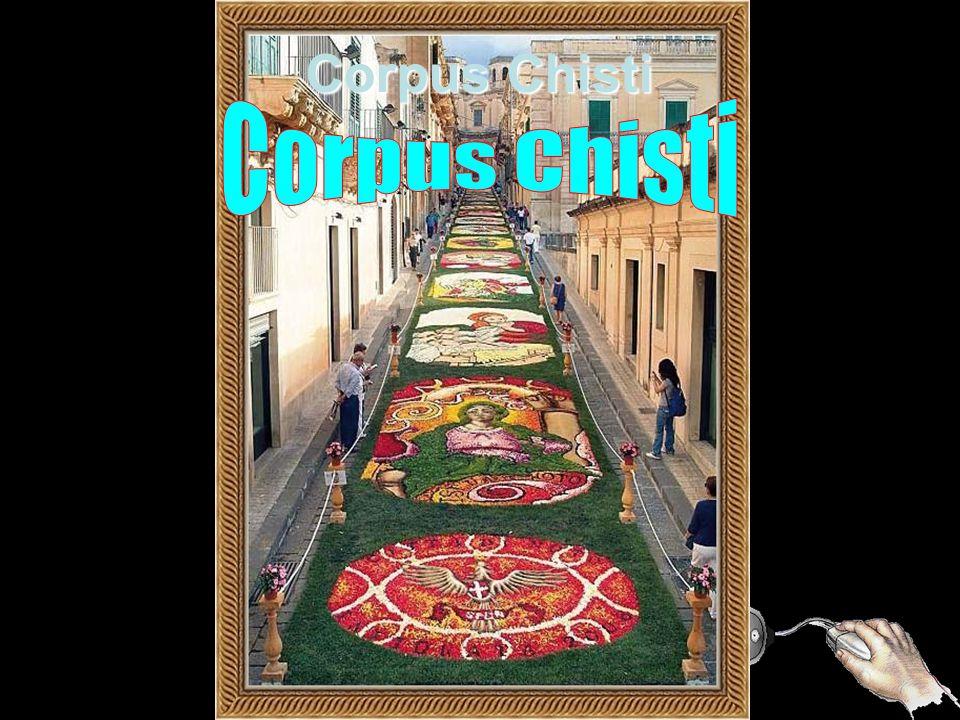 I T Á L I A Tapete de Flores Corpus Chisti