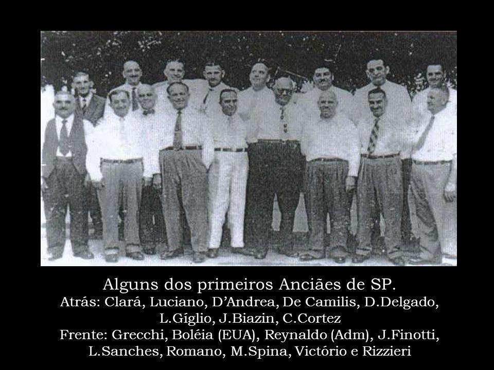 """Batismo num rio em SP – Década de 1950 """"A Semente lançada em boa terra, germinava rapidamente"""""""