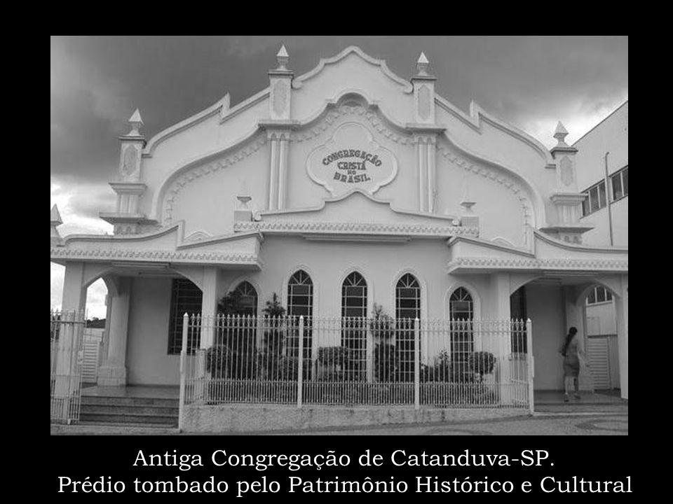 Irmão Redorno Maurutto Um dos primeiros Anciães a desbravar o sertão paulista Ordenado em 1936 pelo irmão Francescon Região da Linha Araraquarense