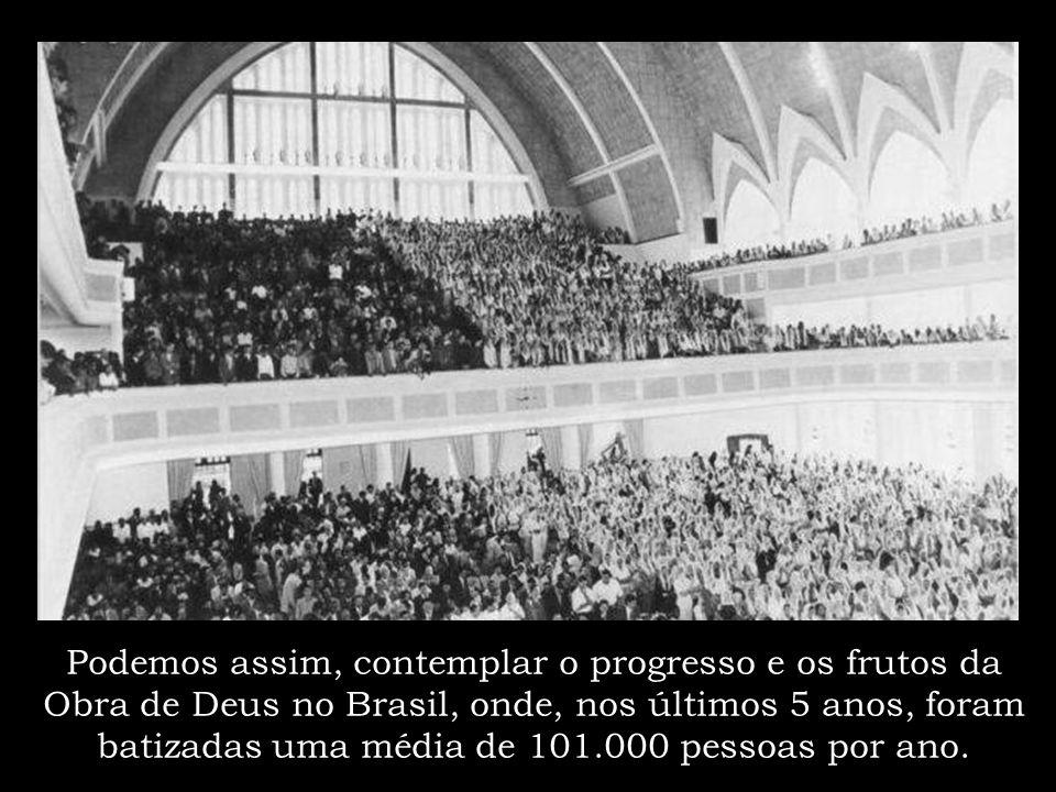Hoje, 100 anos depois, a história da Congregação Cristã no Brasil, é representada por mais de 17.500 igrejas espalhadas por todo país, as quais reúnem