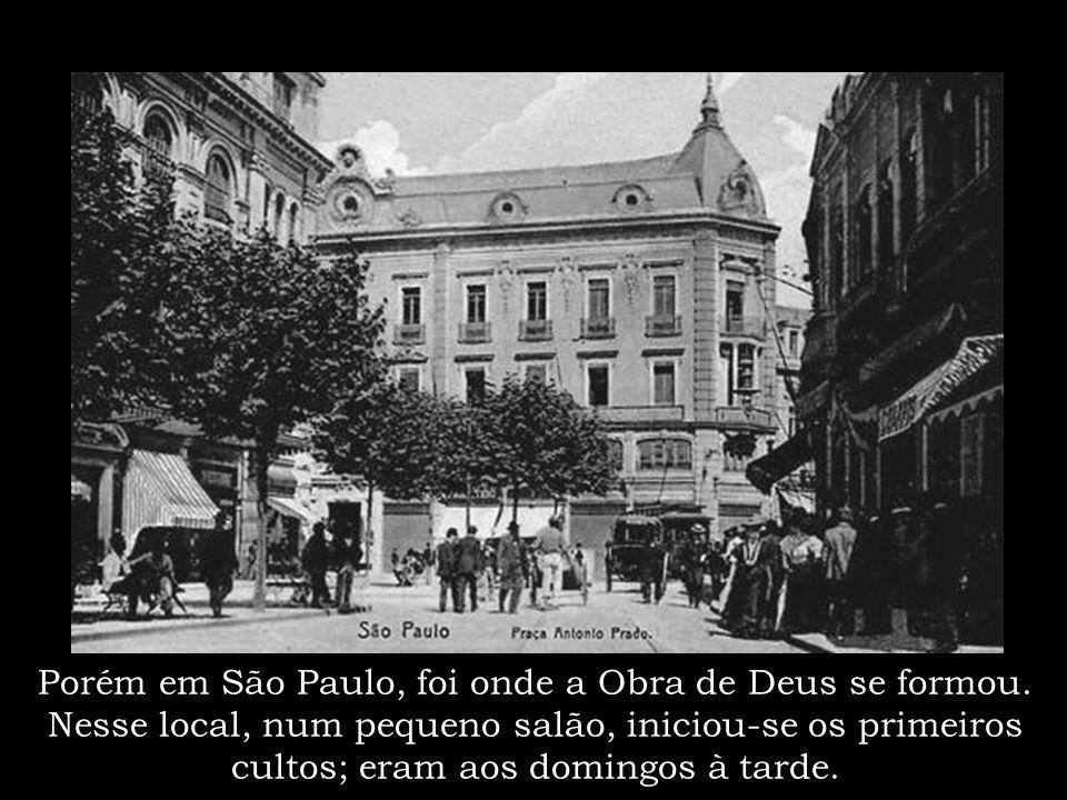 """A primeira família paranaense a aceitar a Graça... Santo Antonio da Platina no entanto, foi o """"berço"""" da Obra de Deus no Brasil"""
