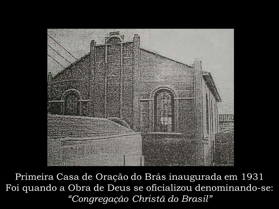Ponte Grande sobre o Rio Tietê: nesse local foi realizado o primeiro batismo na Capital Paulista, em 1910; Deus o chamou, 20 almas. E assim, a Obra co
