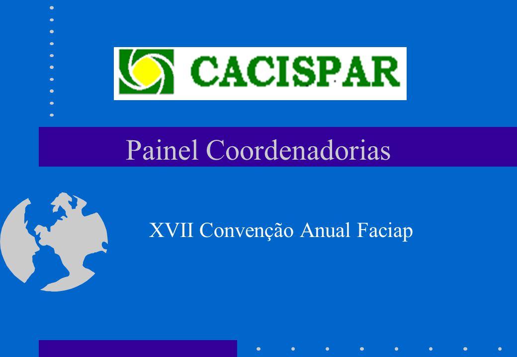 Painel Coordenadorias XVII Convenção Anual Faciap