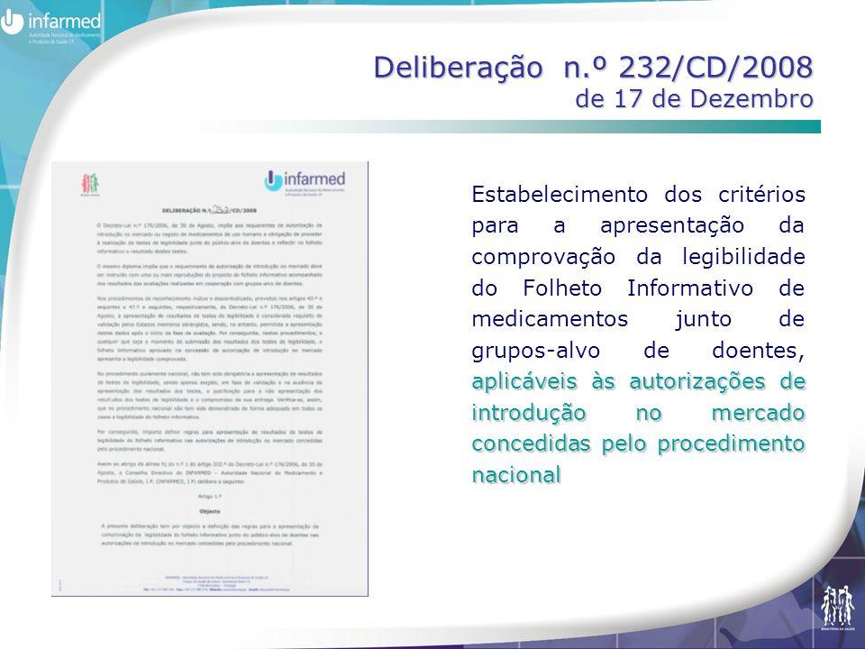 aplicáveis às autorizações de introdução no mercado concedidas pelo procedimento nacional Estabelecimento dos critérios para a apresentação da comprov