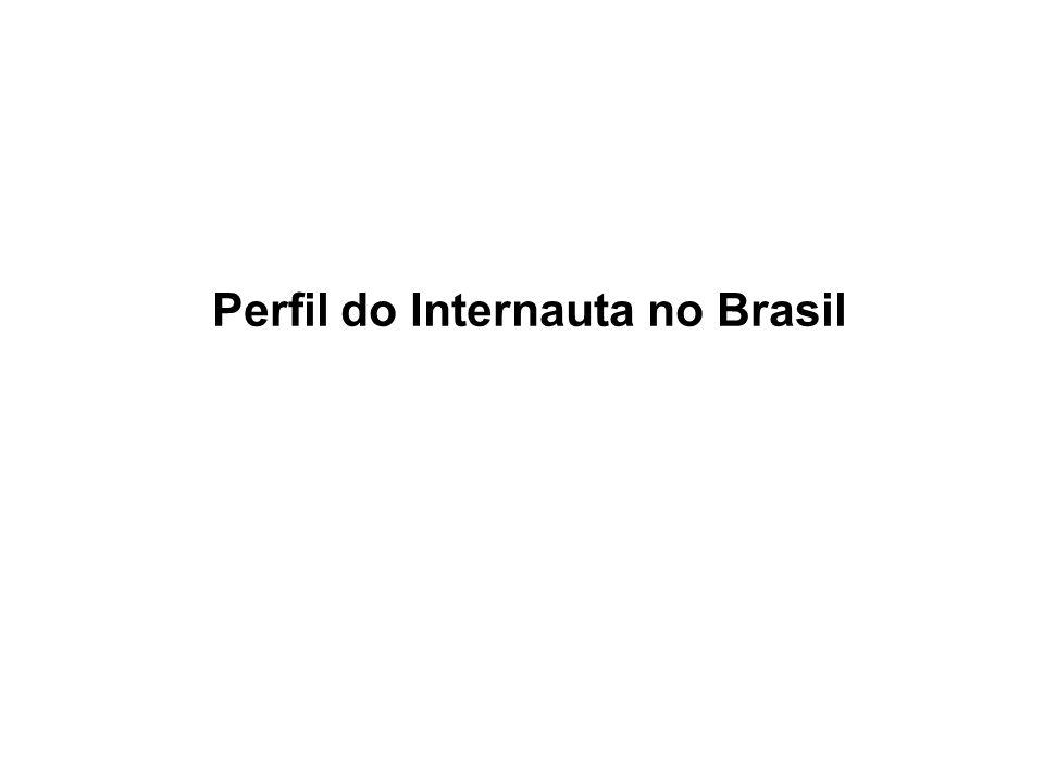 Perfil do Internauta no Brasil