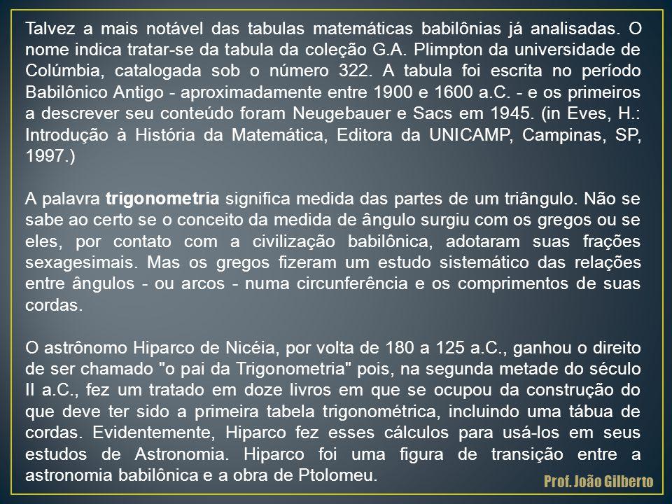 2ª Obsevação Prof. João Gilberto