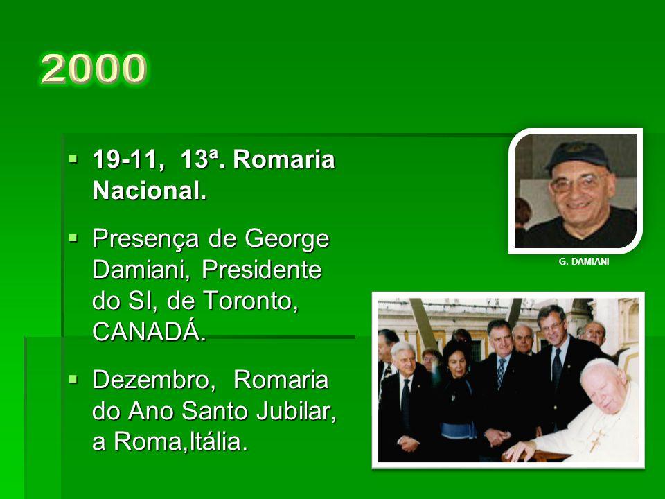  21-11, 12ª.Romaria Nacional.