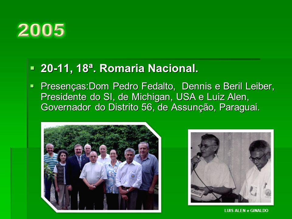  21-11, 17ª.Romaria Nacional.