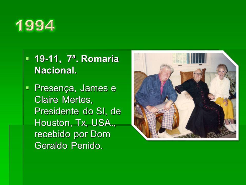  21-11, a 6ª.Romaria Nacional.