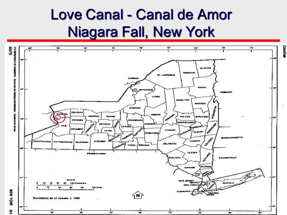 A terra nas áreas era usada como um local de disposição municipal e químico.