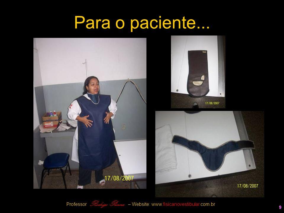 9 Para o paciente... 9 Professor Rodrigo Penna – Website: www.fisicanovestibular.com.br