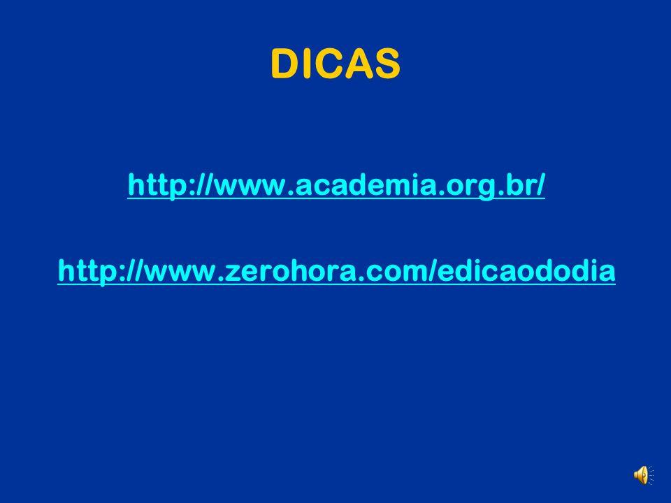 DICAS http://umportugues.com/