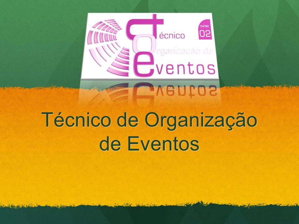 Técnico de Organização de Eventos