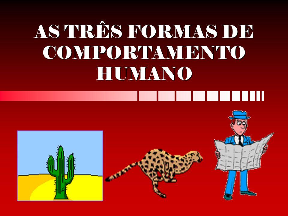 AS TRÊS FORMAS DE COMPORTAMENTO HUMANO