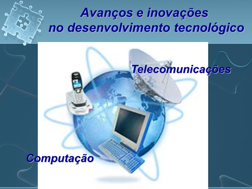 Avanços e inovações no desenvolvimento tecnológico Telecomunicações Computação