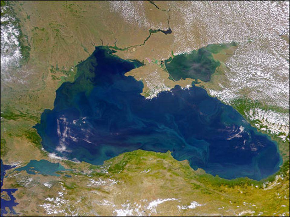 O Mar Negro.