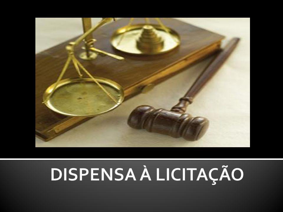 A regra é licitar (artigo 3º, LF 8.666/93).Sempre.