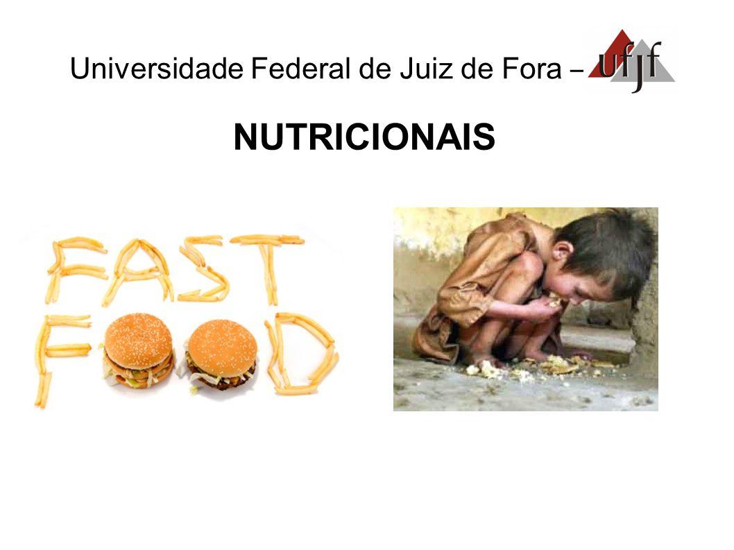 Universidade Federal de Juiz de Fora – NUTRICIONAIS