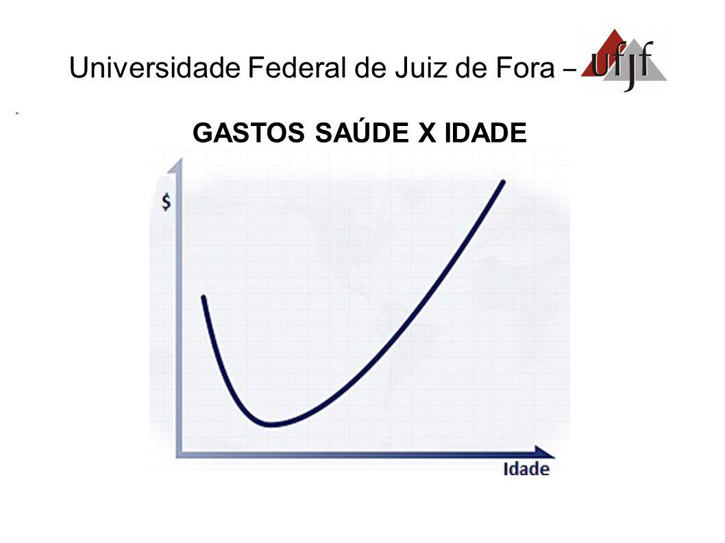 Universidade Federal de Juiz de Fora – GASTOS SAÚDE X IDADE