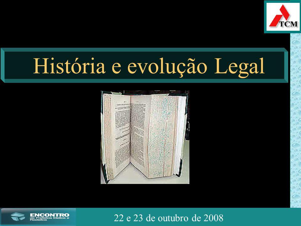 JSSdato22 de outubro de 2008 22 e 23 de outubro de 2008 História e evolução Legal