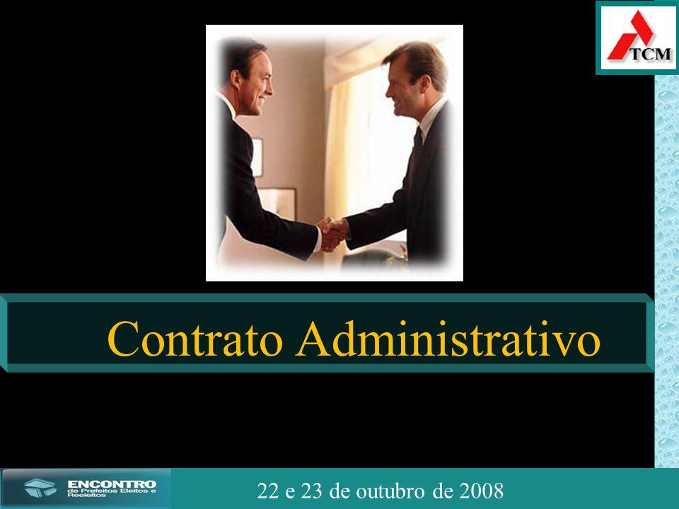 JSSdato22 de outubro de 2008 22 e 23 de outubro de 2008 Contrato Administrativo