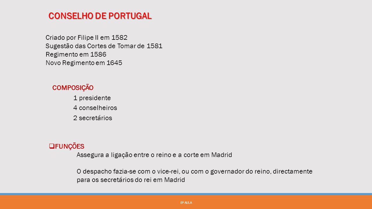 8ª AULA  Resolução de 30 de Outubro de 1824 • Criada a Repartição do Tombo Geral do Reino  Decreto de 11 de Dezembro de 1830 • Criada a Repartição d