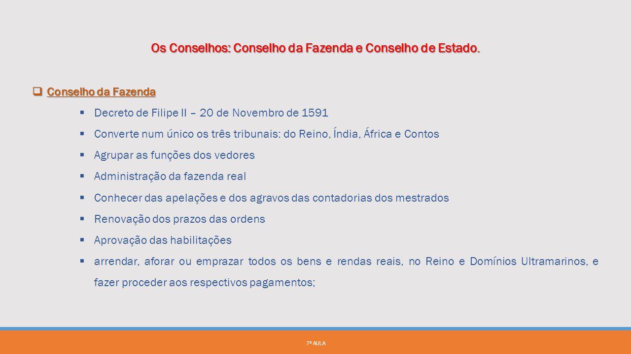 8ª AULA FUNÇÕES  Inicialmente todas as apelações de feitos cíveis e crime;  Depois da criação da Relação no Porto em 1582 a apelação e agravo dos fe