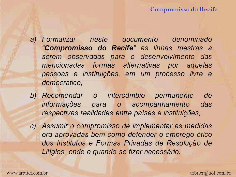 www.arbiter.com.brarbiter@uol.com.br Resolvem