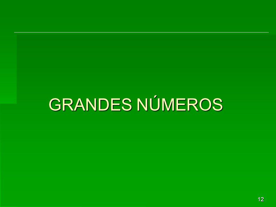 12 GRANDES NÚMEROS