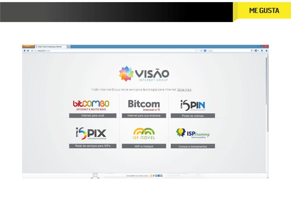 Visão Internet Group reúne serviços e tecnologias para internet. Saiba mais.