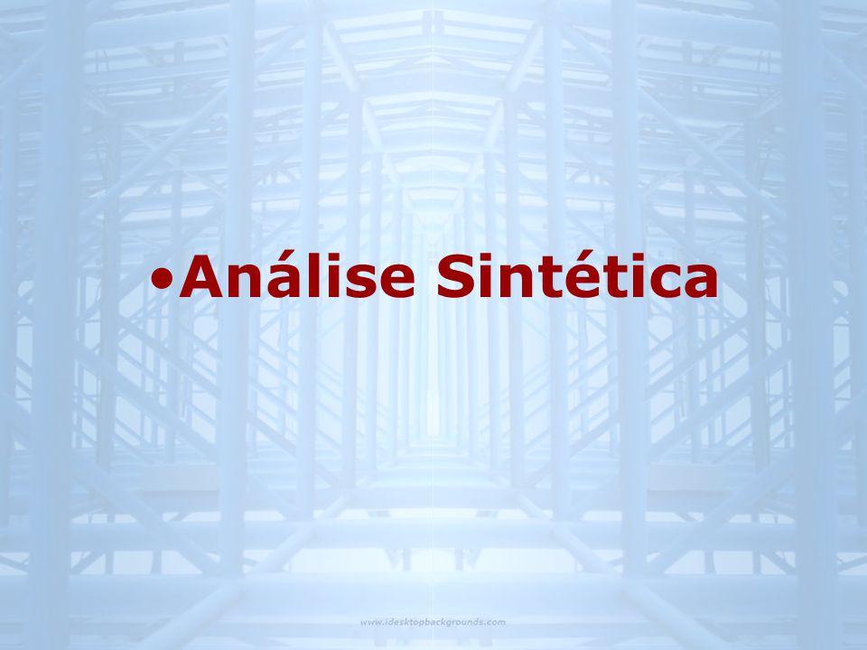 •Análise Sintética