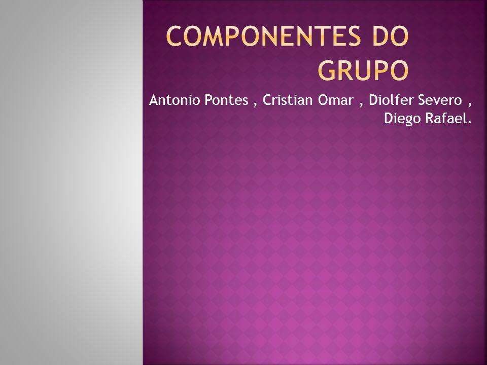 Antonio Pontes, Cristian Omar, Diolfer Severo, Diego Rafael.