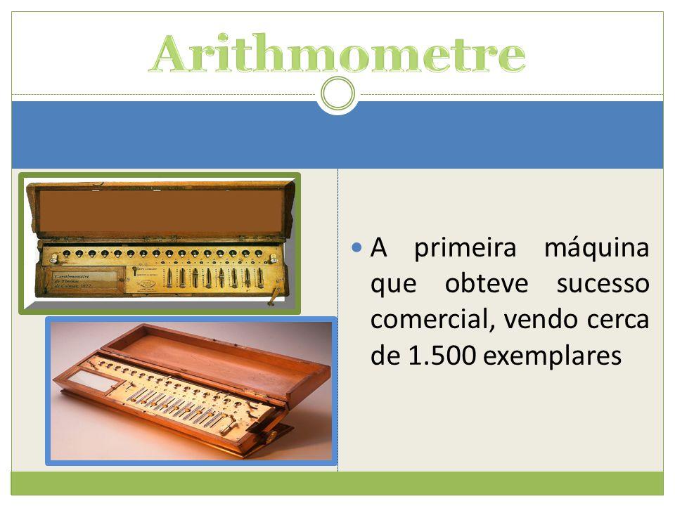  A primeira máquina que obteve sucesso comercial, vendo cerca de 1.500 exemplares