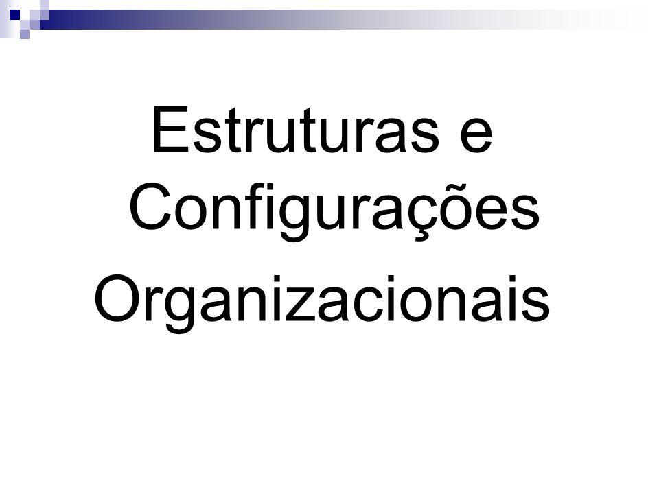 Estruturas e Configurações Organizacionais