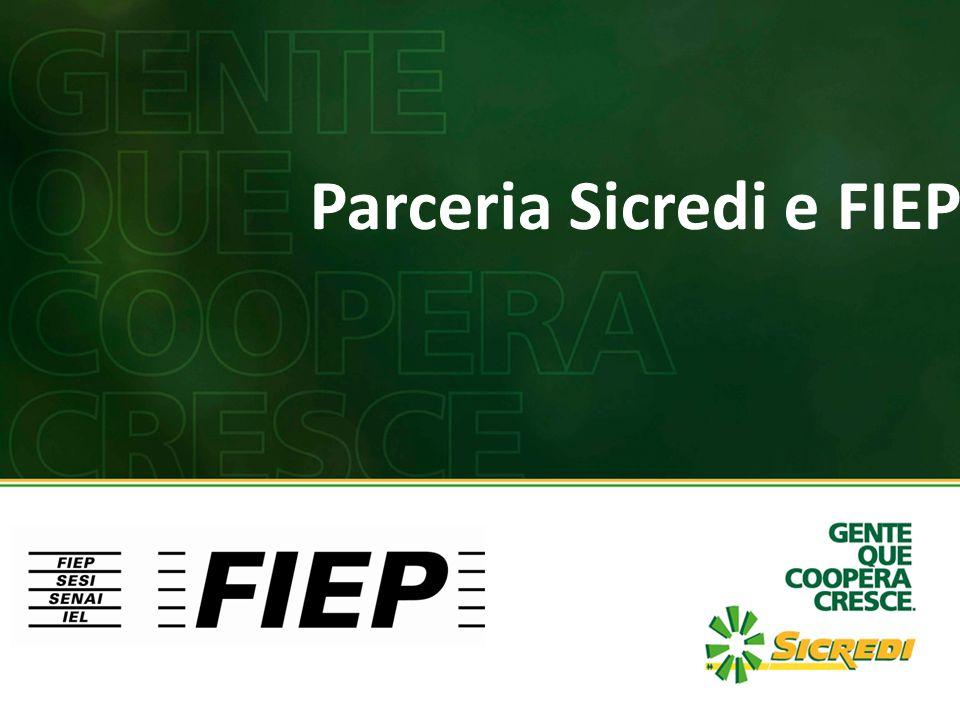 Elevada afinidade entre a característica associativa do Sicredi e o programa de desenvolvimento associativo e de valorização sindical da FIEP.