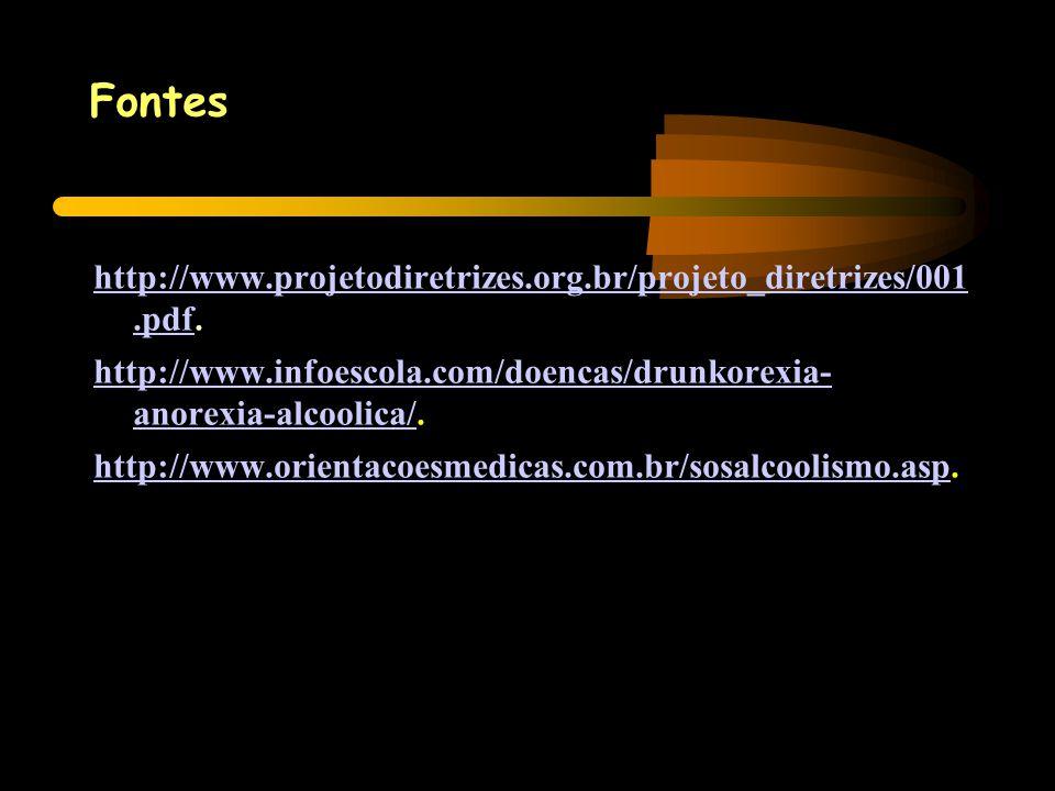 Fontes http://www.projetodiretrizes.org.br/projeto_diretrizes/001.pdfhttp://www.projetodiretrizes.org.br/projeto_diretrizes/001.pdf. http://www.infoes